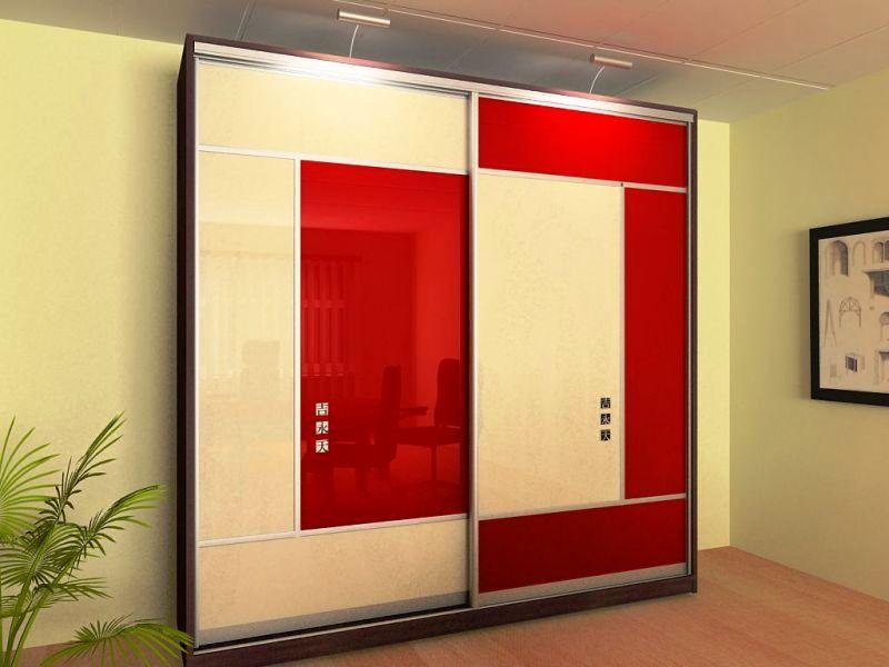 Красные шкафы