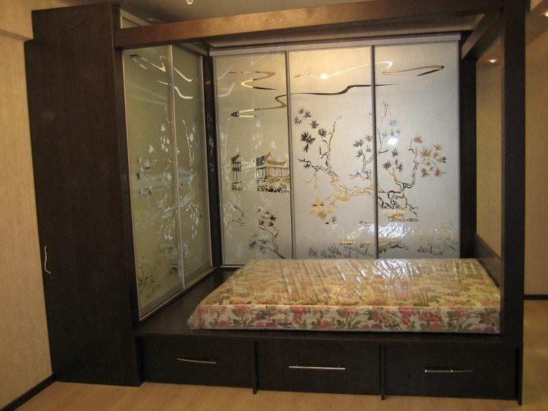 Шкаф-кровать трансформер на заказ.