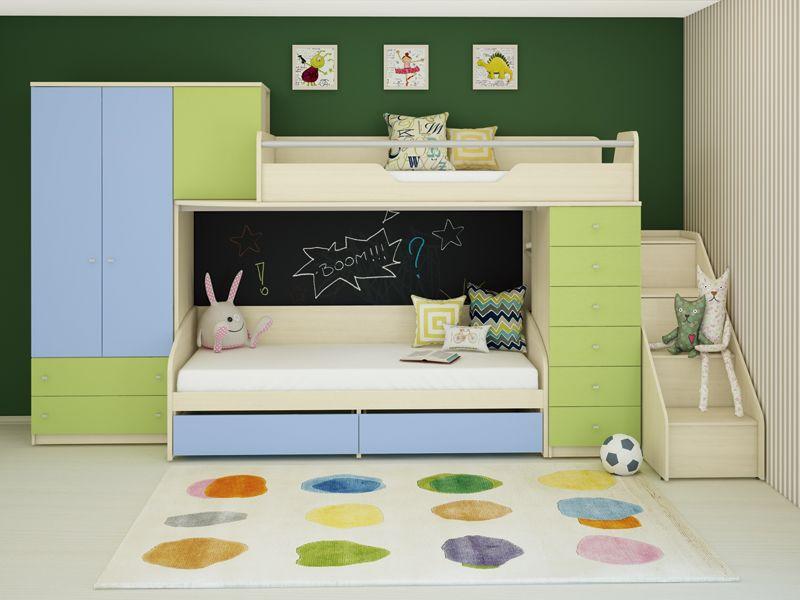 Мебель для двоих детей.
