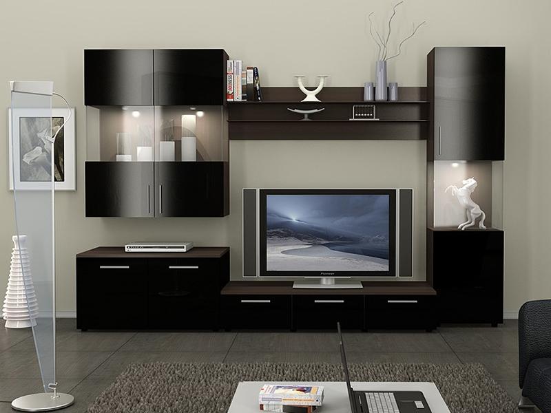 Корпусная мебель для гостиной на заказ.