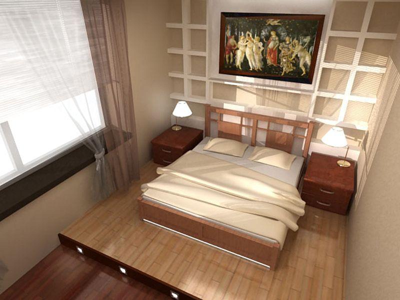 Кровать в спальню своими руками