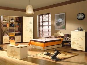 Мебель в детскую комнату для мальчика.