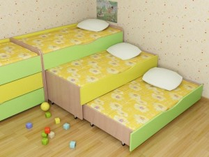 Кровати для детского сада.