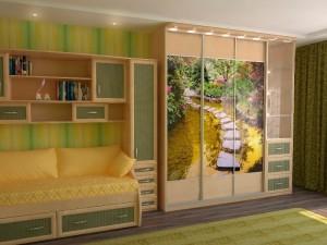 Шкаф-купе в детскую комнату.
