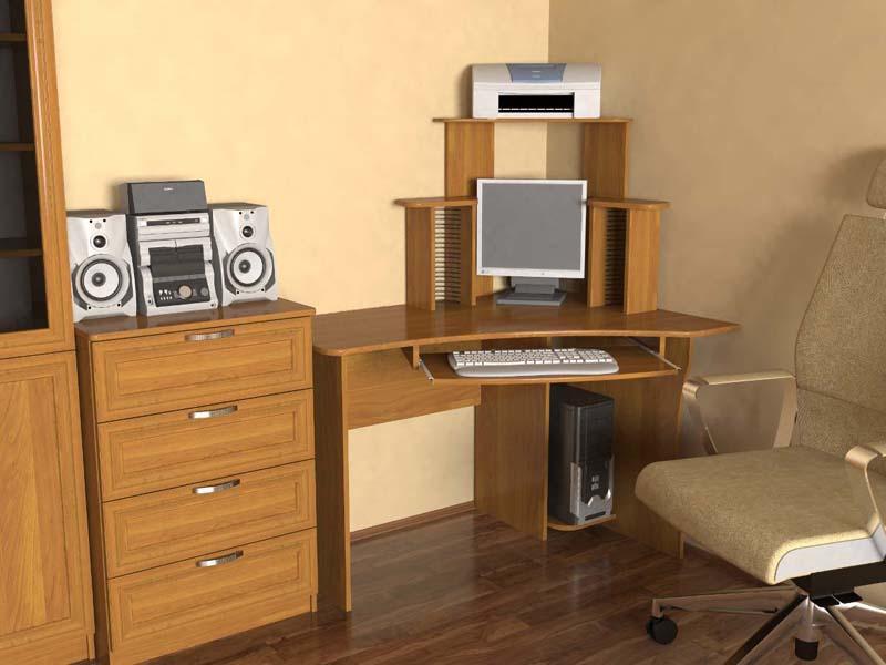 Стол компьютерный ск-7, цена 3200 руб..